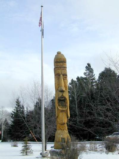 St urho statue finland minnesota
